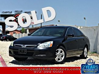 2006 Honda Accord LX SE - 4 cylinder, great on gas!   Lewisville, Texas   Castle Hills Motors in Lewisville Texas