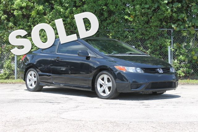2006 Honda Civic EX with NAVI  WARRANTY CARFAX CERTIFIED 16 SERVICE RECORDS GAS SAVER FLORI