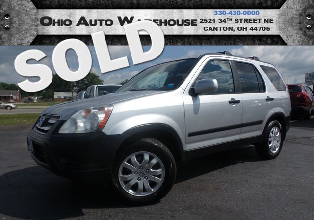 2006 Honda CR-V EX 4x4 Sunroof Clean Carfax We Finance | Canton, Ohio | Ohio Auto Warehouse LLC in Canton Ohio