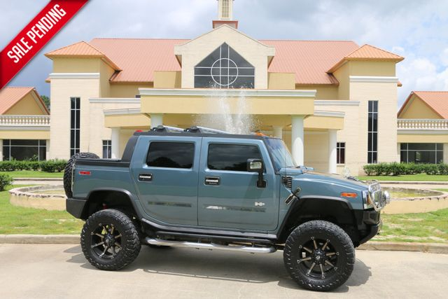 2006 Hummer H2 Sut Luxury Roof Bose Navi HTD SEATS LIFTED 20 INCH FUELS WRAPPED IN 37 TOYOS CLEAN CARFAX SERVICED DETAILED READY TO GEAUX | Baton Rouge , Louisiana | Saia Auto Consultants LLC in Baton Rouge  Louisiana