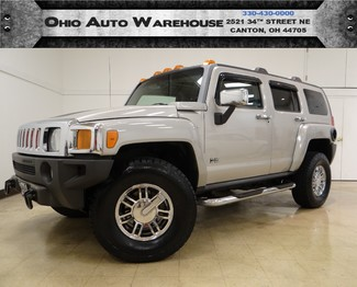2006 Hummer H3 4x4 Sunroof Leather Cln Carfax We Finance in  Ohio