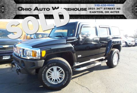 2006 Hummer H3 4x4 Leather Sunroof 1-Own Cln Carfax We Finance | Canton, Ohio | Ohio Auto Warehouse LLC in Canton, Ohio