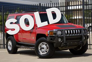 2006 Hummer H3 5-SPEED * Victory Red * TEXAS TRUCK * Cold A/C * Plano, Texas