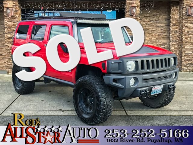 2006 HUMMER H3 AWD The CARFAX Buy Back Guarantee that comes with this vehicle means that you can b