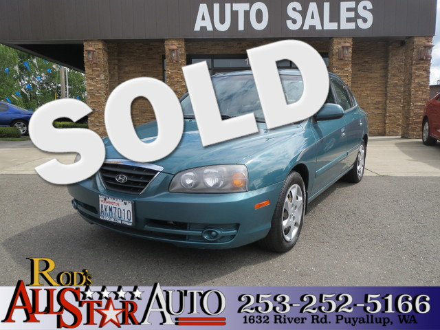 2006 Hyundai Elantra GLS The CARFAX Buy Back Guarantee that comes with this vehicle means that you