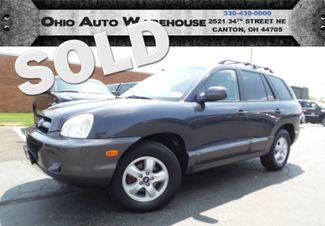 2006 Hyundai Santa Fe GLS 4x4 V6 Sunroof Clean Carfax We Finance | Canton, Ohio | Ohio Auto Warehouse LLC in  Ohio