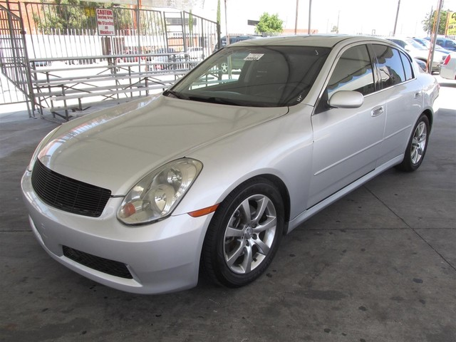 2006 Infiniti G35 Please call or e-mail to check availability All of our vehicles are available