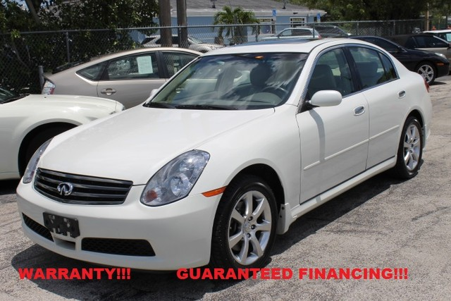 2006 Infiniti G35  WARRANTY CARFAX CERTIFIED AUTOCHECK CERTIFIED 1 OWNER 24 SERVICE RECORDS