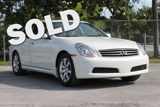 2006 Infiniti G35 Hollywood, Florida 0