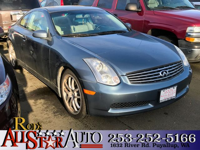 2006 INFINITI G35 The CARFAX Buy Back Guarantee that comes with this vehicle means that you can bu