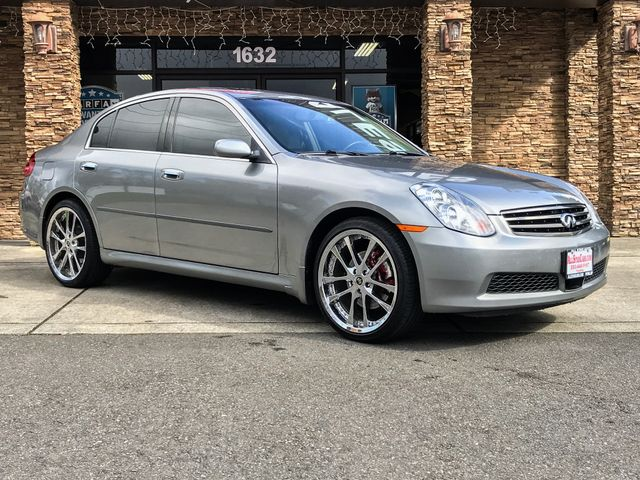 2006 INFINITI G35 AWD The CARFAX Buy Back Guarantee that comes with this vehicle means that you ca