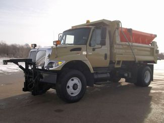 2006 International 7400 Snow Plow Dump Truck, 11', Dump with Spreader ., . 1