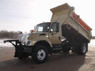 2006 International 7400 Snow Plow Dump Truck, 11', Dump with Spreader ., . 2