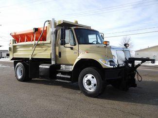 2006 International 7400 Snow Plow Dump Truck, 11', Dump with Spreader ., . 4