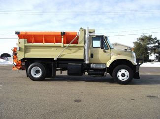 2006 International 7400 Snow Plow Dump Truck, 11', Dump with Spreader ., . 5