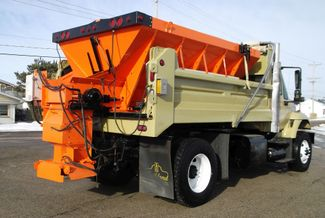 2006 International 7400 Snow Plow Dump Truck, 11', Dump with Spreader ., . 6