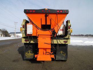 2006 International 7400 Snow Plow Dump Truck, 11', Dump with Spreader ., . 7