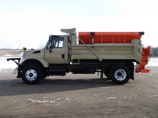 2006 International 7400 Snow Plow Dump Truck, 11', Dump with Spreader ., . 9