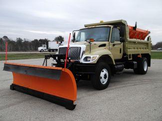 2006 International 7400 Snow Plow Dump Truck, 11', Dump with Spreader ., .