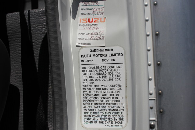 2006 Isuzu NPR DSL Box Truck-Straight Truck Mooresville , NC 15