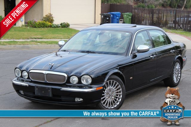 "2006 Jagar XJ VANDEN PLAS NAVIGATION 19"" ALLOY WHLS SERVICE RECORDS XENON LEATHER Woodland Hills, CA 0"