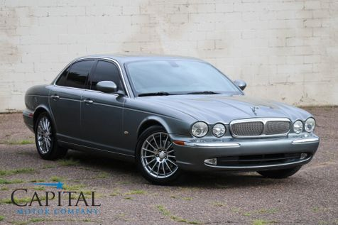 2006 Jaguar XJ8 V8 Luxury Sport Sedan with Navigation, Xenon Lights, 18