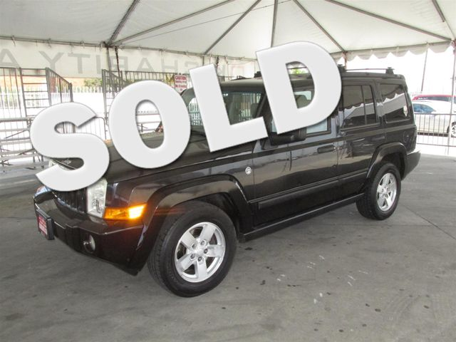 2006 Jeep Commander This particular Vehicle comes with 3rd Row Seat Please call or e-mail to chec