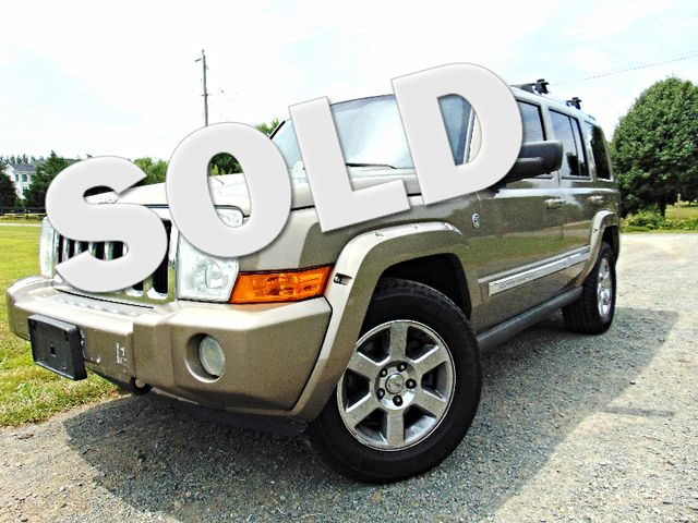 2006 Jeep Commander Limited 4X4 Leesburg, Virginia 0