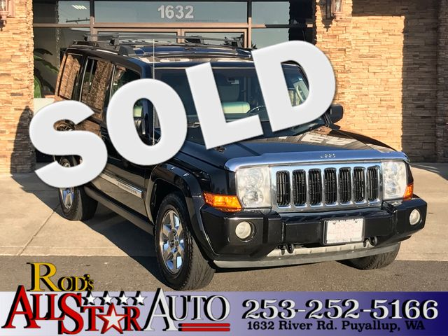2006 Jeep Commander 4WD The CARFAX Buy Back Guarantee that comes with this vehicle means that you