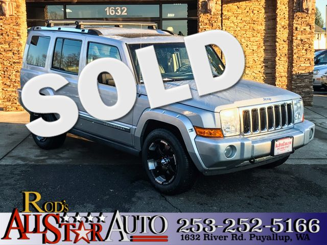 2006 Jeep Commander Limited 4WD The CARFAX Buy Back Guarantee that comes with this vehicle means t