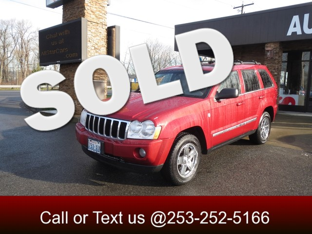 2006 Jeep Grand Cherokee Limited 4WD V8 The CARFAX Buy Back Guarantee that comes with this vehicle