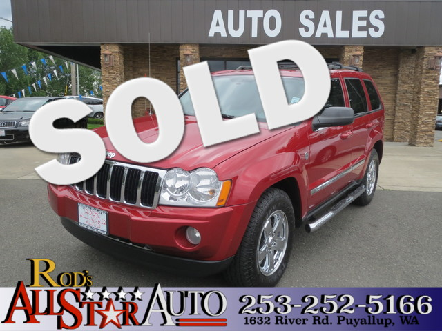 2006 Jeep Grand Cherokee Limited 4x4 The CARFAX Buy Back Guarantee that comes with this vehicle me