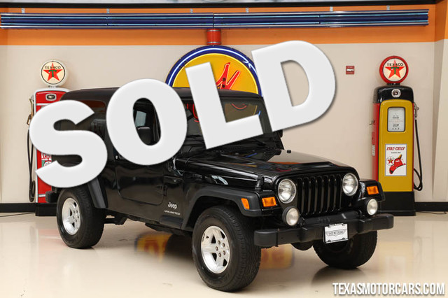 2006 Jeep Wrangler Unlimited LWB This 2006 Jeep Wrangler Unlimited is in great shape with only 97