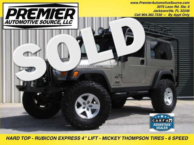 2006 Jeep Wrangler Unlimited Rubicon LWB Jacksonville , FL 0