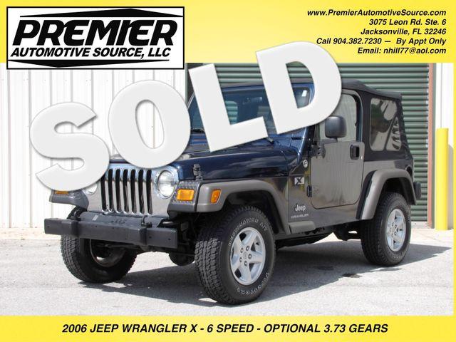 2006 Jeep Wrangler X Jacksonville , FL 0