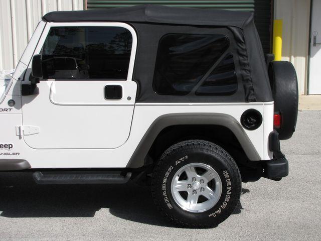 2006 Jeep Wrangler Sport Jacksonville , FL 8