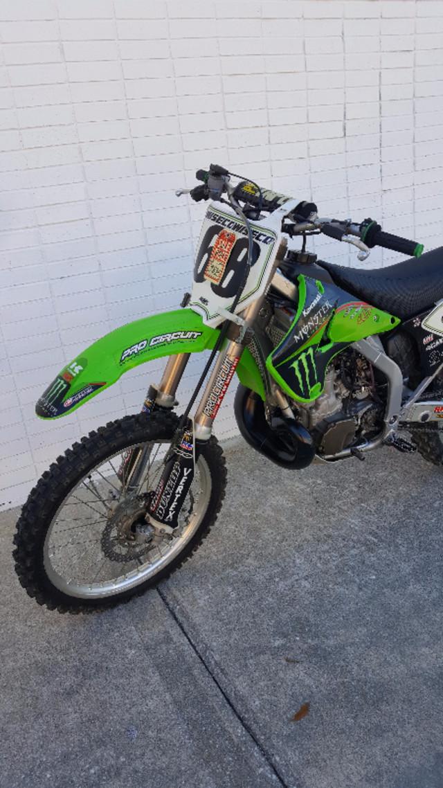 2006 Kawasaki KX250 Daytona Beach, FL 4