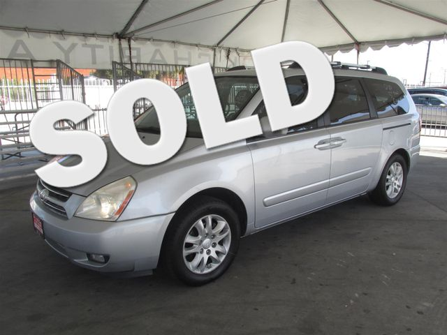 2006 Kia Sedona EX This particular Vehicle comes with 3rd Row Seat Please call or e-mail to check