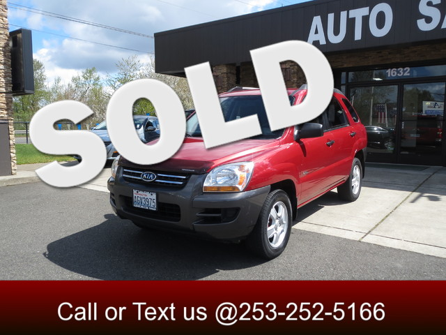 2006 Kia Sportage LX 4WD The CARFAX Buy Back Guarantee that comes with this vehicle means that you