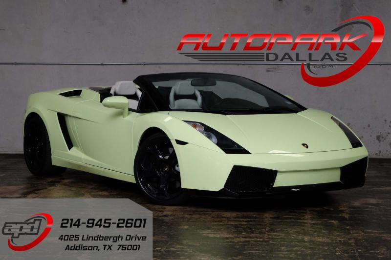 2006 lamborghini gallardo spyder awd - Lamborghini Gallardo Spyder Green