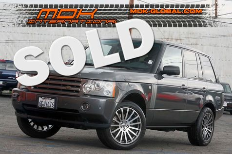 2006 Land Rover Range Rover HSE - Luxury pkg - Rear DVD - Camera in Los Angeles