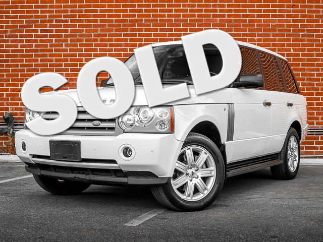 2006 Land Rover Range Rover HSE Burbank, CA 0
