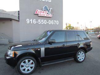 2006 Land Rover Range Rover HSE Navi / Camera / DVD Sacramento, CA 3