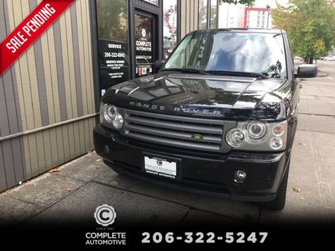 2006 Land Rover Range Rover HSE 4 Wheel Drive Luxury Package Local 2 Owner History Very  Nice Save $74,000! in Seattle