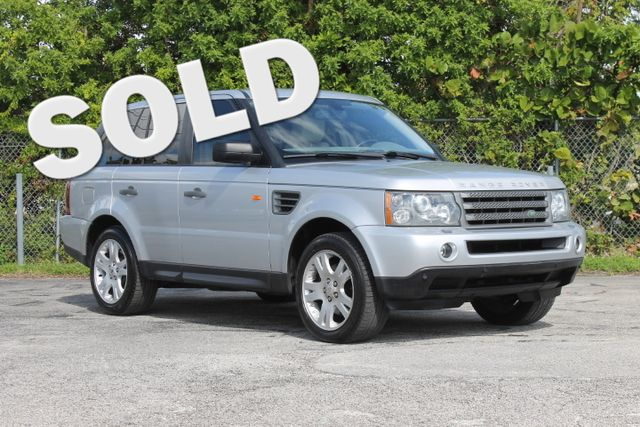2006 Land Rover Range Rover Sport HSE  WARRANTY CARFAX CERTIFIED 18 SERVICE RECORDS FLORIDA