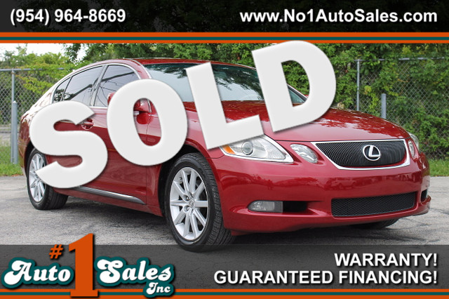 2006 Lexus GS 300  WARRANTY CARFAX CERTIFIED AUTOCHECK CERTIFIED 2 OWNERS 20 SERVICE RECORD