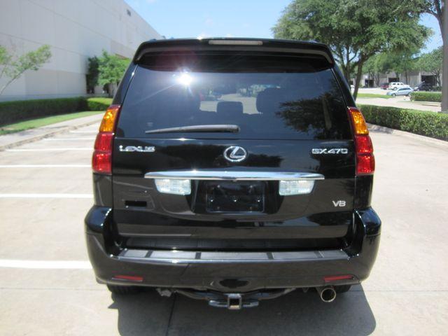 2006 Lexus GX 470 Luxury SUV, Black Beauty, Flawless ONLY 119k Miles Plano, Texas 9