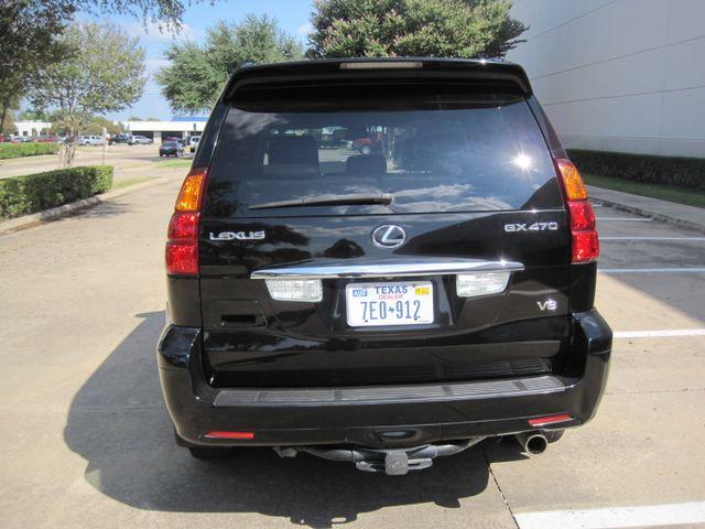 2006 Lexus GX 470 Luxury Suv, Nav, Roof, 1 Owner, Low Miles Plano, Texas 9