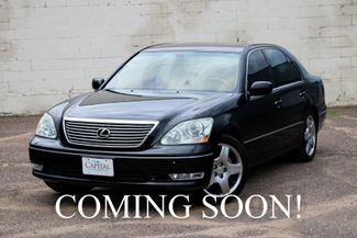 2006 Lexus LS430 V8 Luxury Car w/Navigation, Rear-View in Eau Claire, Wisconsin