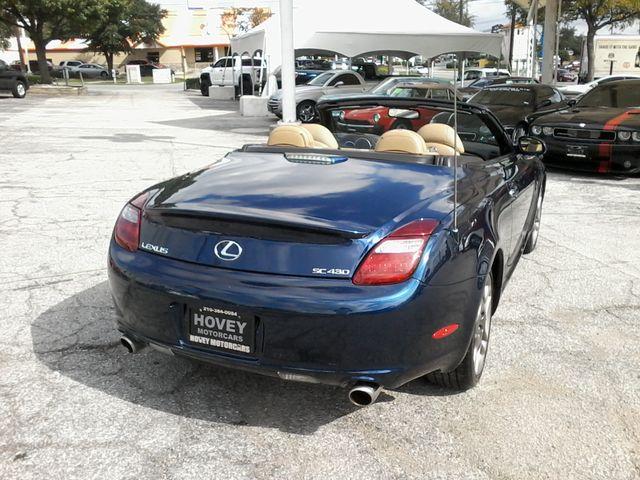 2006 Lexus SC 430 Retractable San Antonio, Texas 6